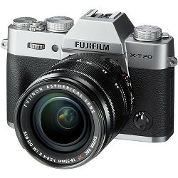 FUJI X-T20 18-55mm Kit  Body+lens, 24MP X-Trans CMOS III 3,0