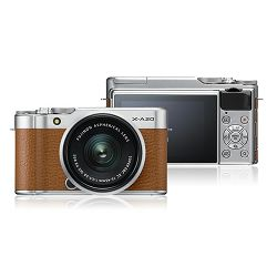 FUJIFILM X-A20 15-45mm II Kit  Body+lens, 16 MP APS-C,  3.0