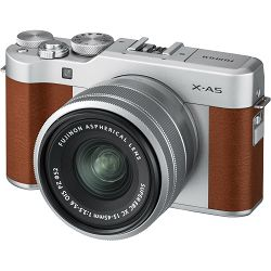 FUJIFILM X-A5 15-45mm Kit  Body+lens, 24MP APS-C CMOS 3.0