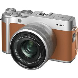 FUJIFILM X-A7 + XC 15-45mm Lens CAMEL