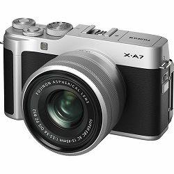 FUJIFILM X-A7 + XC 15-45mm Lens SILVER