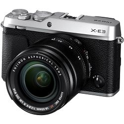 FUJIFILM X-E3 18-55mm Kit Body+lens, 24MP X-Trans CMOS III 3,0