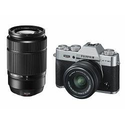 FUJIFILM X-T30 15-45mm + 50-230mm Kit Body+lens, 26MP X-Trans CMOS IV 3,0