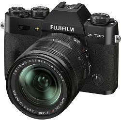 FUJIFILM X-T30 II XF 18-55mm F2.8-4 R LM OIS black