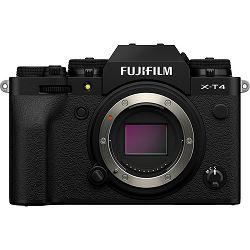 FUJIFILM X-T4 BODY BLACK (26MP X-Trans CMOS IV, 3,0