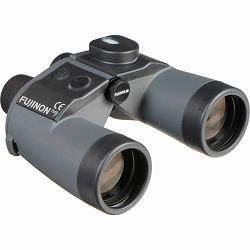 Fujinon 7x50 WPC-XL WITH SOFT CASE - binocular w/ compass including floating strap, objective and eyepiece lens cup