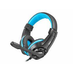 Fury Wildcat, gaming slušalice, crna/plava