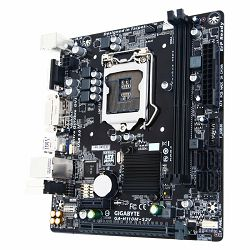 GIGABYTE Main Board Desktop INTEL H110 (Socket LGA1151,2xDDR4,VGA/DVI,1xPCIEX16/1xPCIEX1,USB3.0/USB2.0, 4xSATA III,LAN) micro ATX retail
