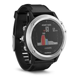 GARMIN fenix 3 HR (srebrni) - outdoor sat