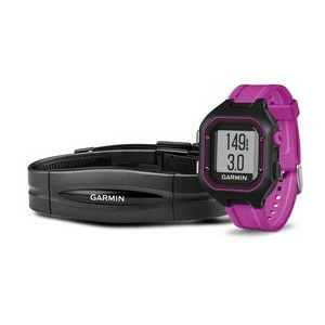 GARMIN Forerunner 25 HRM black-purple