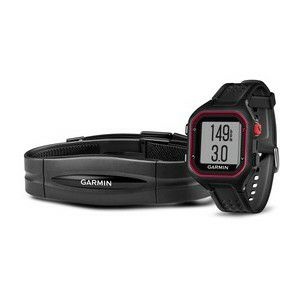 GARMIN Forerunner 25 HRM black-red