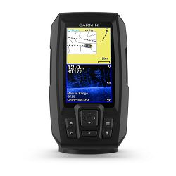 GARMIN Striker Plus 4cv (s krmenom sondom CHIRP 77/200kHz/DownVü GT20-TM, 4-pin), GPS