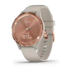 GARMIN vivomove 3S Rose Gold Light sand
