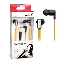 Genius HS-M260GY,in-ear headset,zlatno-bijele