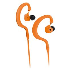 Genius HS-M270, in-ear sport headset, orange