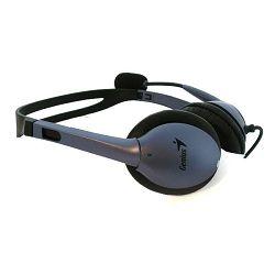 Genius HS-04S, slušalice s mikrofonom, 3,5 mm