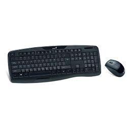 Genius KB-8000X, tipkovnica i miš, crna, usb