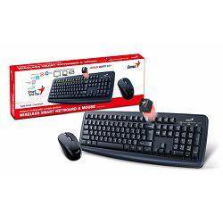 Genius Smart KM-8100, tipkovnica+miš, wireless
