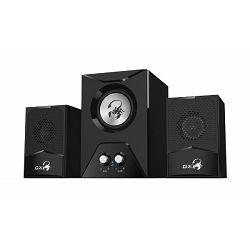 Genius zvučnici SW-G2.1 500, 220V, subwoofer,crni