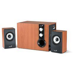 Genius zvučnici SW-HF2.1 1205 II, 36W, drveni