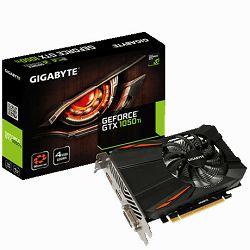 Gigabyte GF GTX1050 Ti D5, 4GB GDDR5
