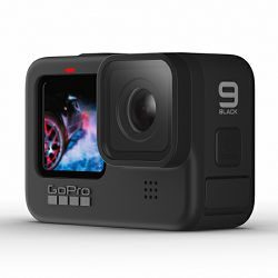GoPro HERO9 Black, 5K30/4K60, 20MP, Touchscreen, Voice Control, HyperSmooth 3.0, GPS