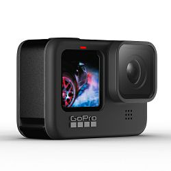 GoPro HERO9 Black, 5K30/4K60, 20MP, Touchscreen, Voice Control, HyperSmooth 3.0, GPS
