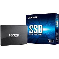 "GIGABYTE SSD 120GB, 2.5"", SATA III, 500MBs/380MBs, Retail"