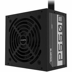 GIGABYTE P550B Power Supply 550W, 80+ Bronze, 120mm HYB fan, EU plug