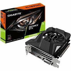 GIGABYTE Video Card NVidia GeForce GTX 1650 SUPER OC GDDR6 4GB/128bit, 1725MHz/12000MHz, PCI-E 3.0 x16, HDMI, DP, DVI-D,  1X Cooler (Double Slot), Retail