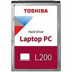 TOSHIBA HDD mobile L200-1TB-54RPM-128MB-SATA-2.5