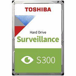 TOSHIBA Tomcat S300 4TB 3.5-inch Surveillance Hard Drive