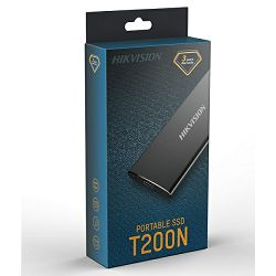 Hikvision ESSD T200N 1TB USB3.0 Crni