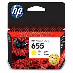 HP 655 Yellow Ink Cartridge, CZ112AE