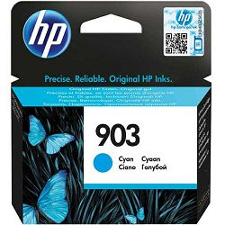 HP 903 Cyan Original Ink Cartridge, T6L87AE