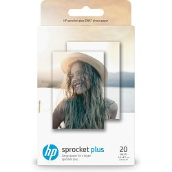 HP Sprocket Plus Photo Paper-20 sticky-backed shee, 2LY72A, 2LY72A