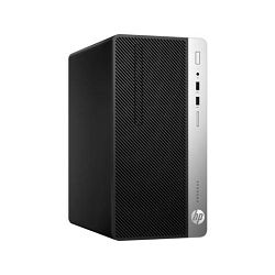HP ProDesk 400 G5 MT - Intel i3-8100 3.6GHz / 8GB RAM / 256GB SSD / Intel UHD 630 / DVD-WR / DOS, 5ZS29EA