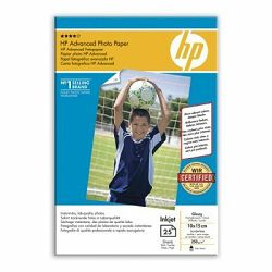 Hp Advanced Glossy Photo 10x15 25l, Q8691A