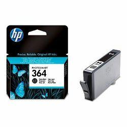 HP 364 Photo Black Ink Cartridge, CB317EE