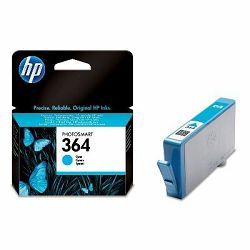 HP 364 Cyan Ink Cartridge, CB318EE