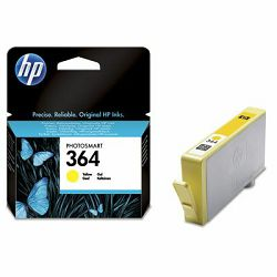 HP 364 Yellow Ink Cartridge, CB320EE