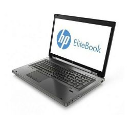 HP EliteBook 8770w - Intel i7-3840QM / 8GB RAM / SSD 24GB i 750GB HDD / nVidia K3000M / Windows 7&8, LY585EA