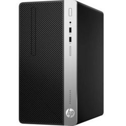 HP ProDesk 400 G5 MT - Intel i3-8100 / 8GB RAM / 1TB HDD / DVD-RW / Intel UGD 630 / Windows 10 Pro, MT5ZS26EA