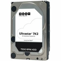 HDD Server HGST Ultrastar 7K2 (3.5'', 1TB, 128MB, 7200 RPM, SATA 6Gb/s, 512N SE) SKU: 1W10001