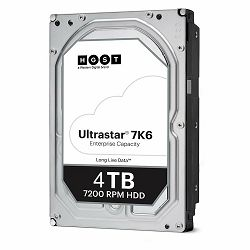 HDD Server WD/HGST Ultrastar 7K6 (3.5'', 4TB, 256MB, 7200 RPM, SATA 6Gb/s, 512E SE), SKU: 0B36040