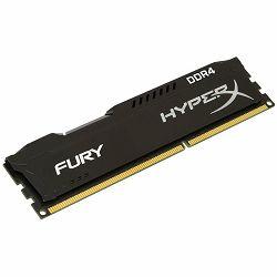 Kingston  4GB 2400MHz DDR4 CL15 DIMM HyperX FURY Black, EAN: 740617244335