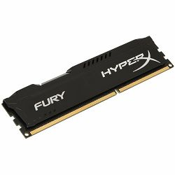 Kingston DRAM 8GB 2400MHz DDR4 CL15 DIMM 1Rx8 HyperX FURY Black EAN: 740617256550