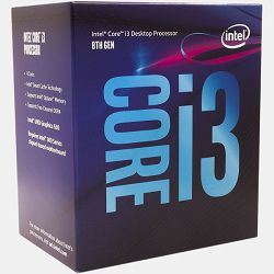 Intel Core i3 8300 3.7GHz,8MB,4C,LGA 1151 CL