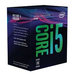 Intel Core i5 8400 2.8/4.0GHz,9MB,4C,LGA 1151