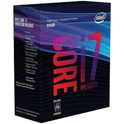 Intel Core i7 8700k 3,7GHz,12MB, 6C/12T,LGA 1151